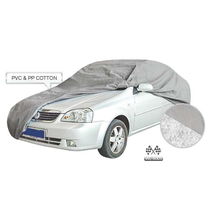 Durable PVC&PP Cotton Material Car Cover