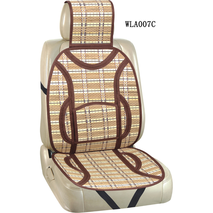 Wholesale Auto Accessories Bamboo Car Seat Cushion With Black、Gray And Brown